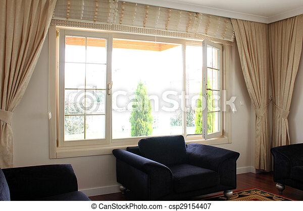 living room - csp29154407