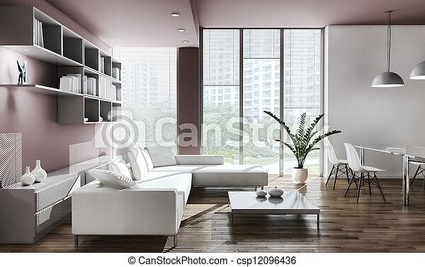 Living room - csp12096436
