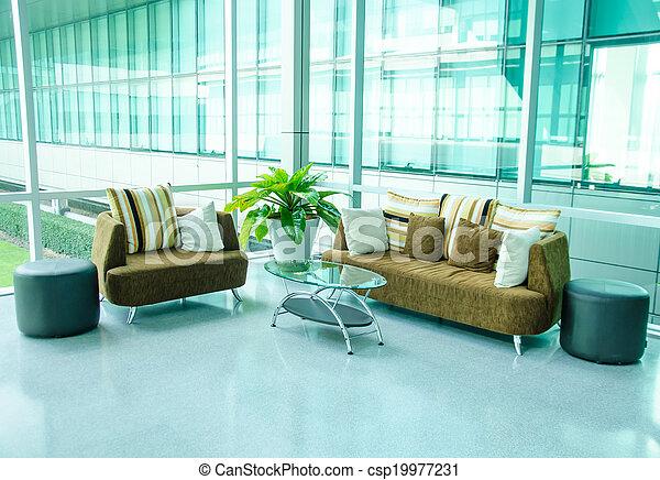 Living room - csp19977231