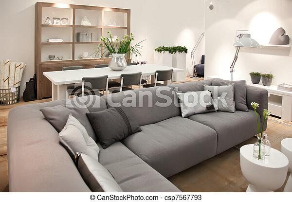 living room  - csp7567793
