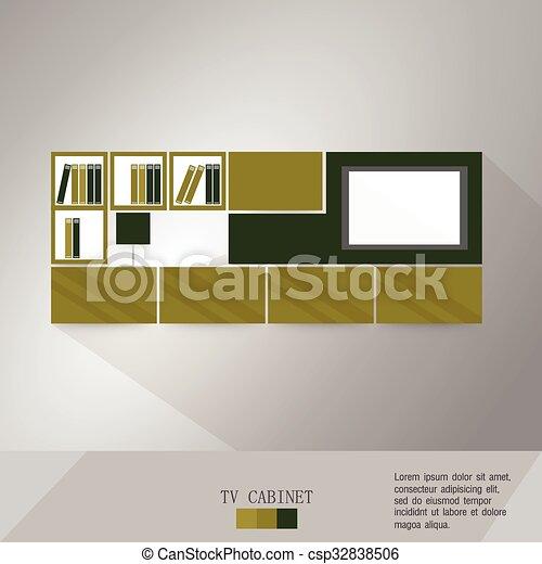 Living Room vector illustration - csp32838506