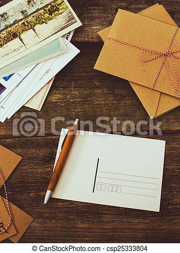 livraison, courrier - csp25333804