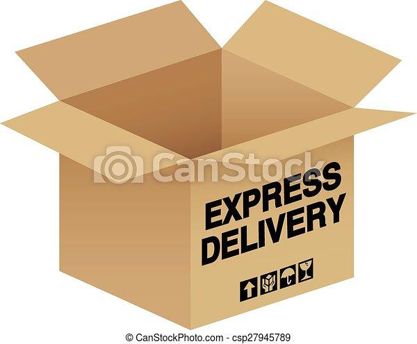 livraison, exprès - csp27945789