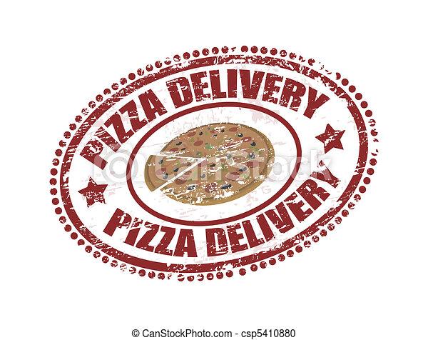 livraison, pizza - csp5410880