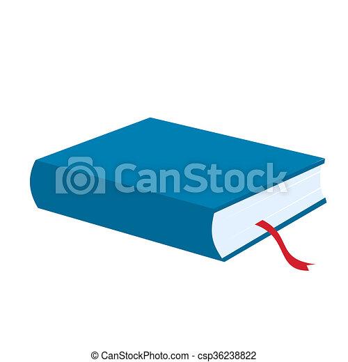 Livre Bleu Icone