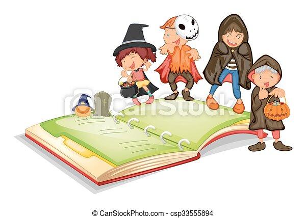 Livre Costume Halloween Enfants