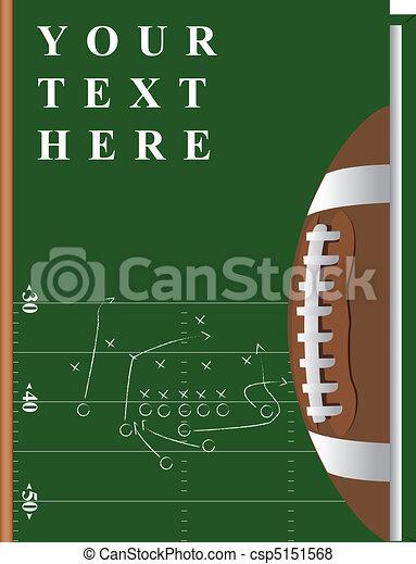 livre, football - csp5151568