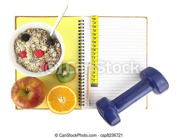 livre, ?healthy, eating? - csp8236721