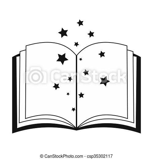 Livre Ouvert Magie Charmes