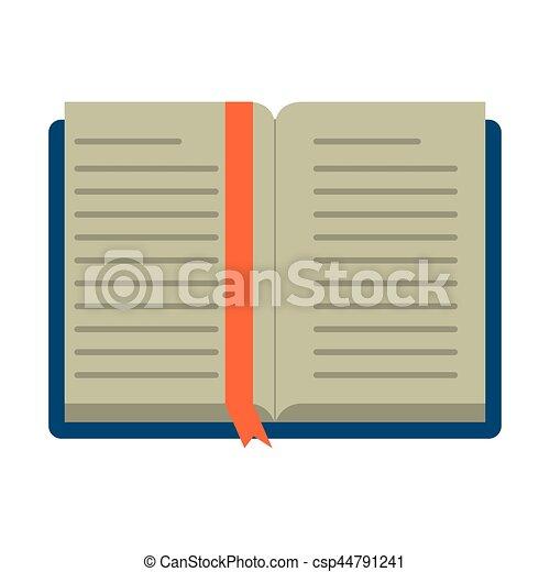 Livre Scolaire Ouvert Apprentissage Bibliotheque