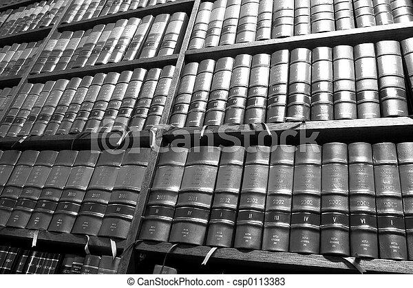 livres, légal, #5 - csp0113383