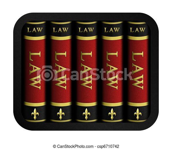 livres loi - csp6710742