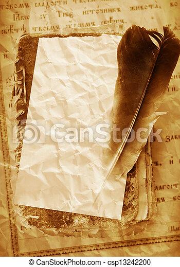 livres, vieux - csp13242200