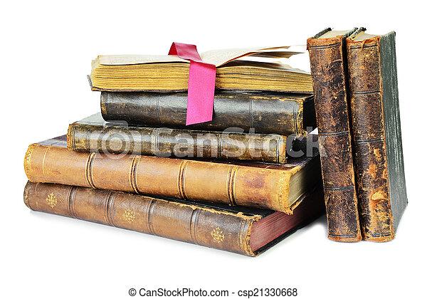 livres, vieux - csp21330668