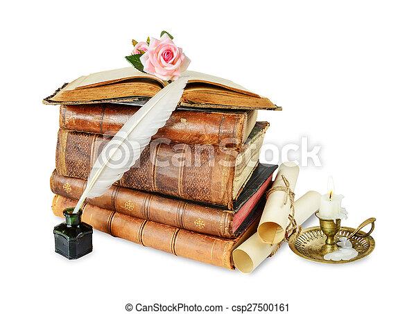 livres, vieux - csp27500161