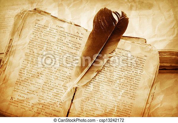 livres, vieux - csp13242172
