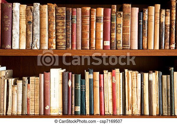 livres, vieux - csp7169507