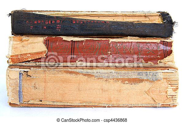 livres, vieux - csp4436868