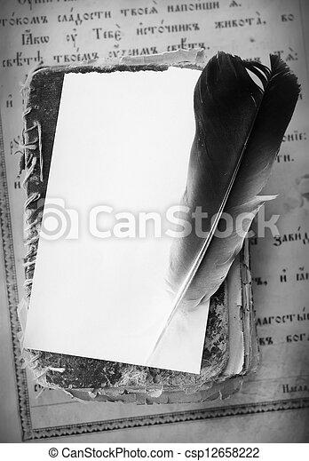 livres, vieux - csp12658222
