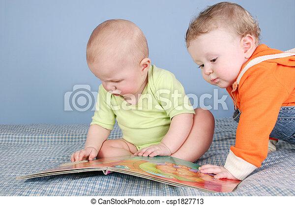 livro, crianças - csp1827713