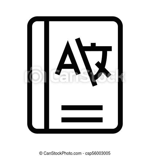 livro, língua - csp56003005
