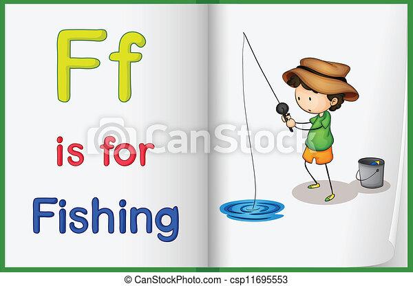 livro, pesca - csp11695553