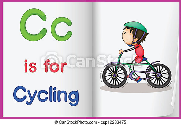 livro quadro, ciclismo - csp12233475