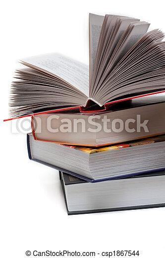 livros, pilha - csp1867544