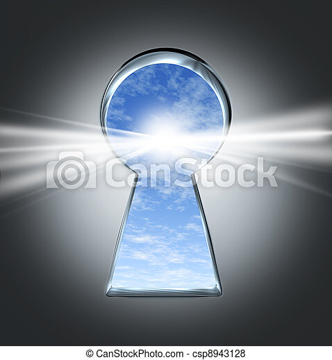 La clave del éxito - csp8943128