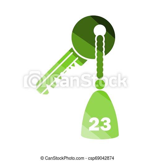 La llave del hotel - csp69042874