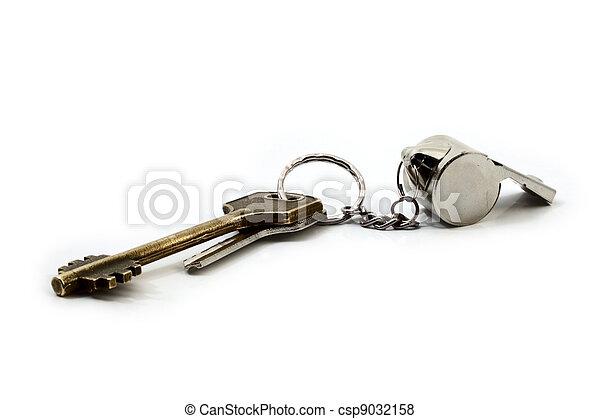 llaves, silbido - csp9032158