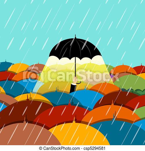 Es temporada de lluvias - csp5294581