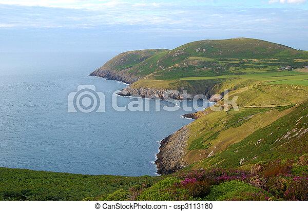 llyn, noorden, schiereiland, wales - csp3113180