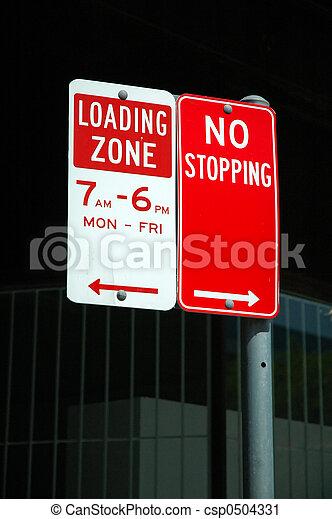 LOADING ZONE - csp0504331