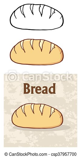 Loaf Bread Collection Set - csp37957700