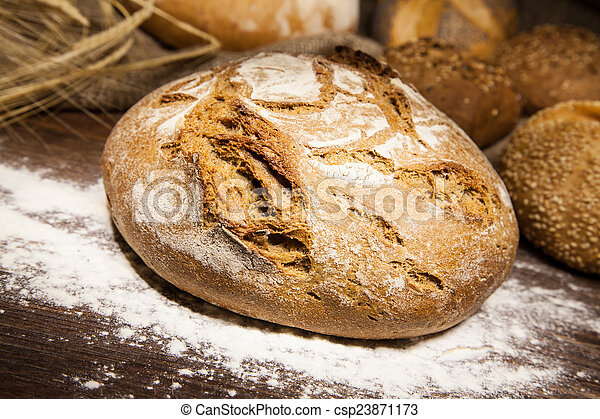 loaf of bread - csp23871173