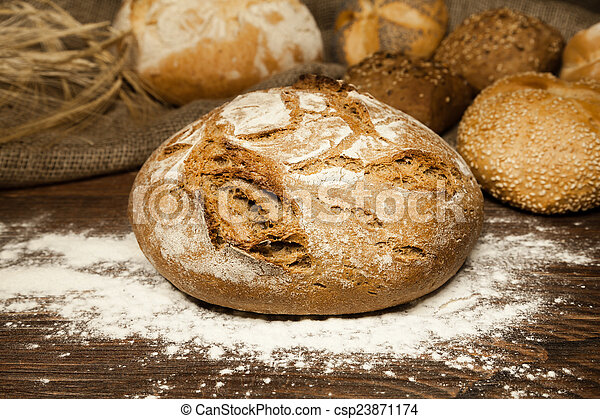 loaf of bread - csp23871174