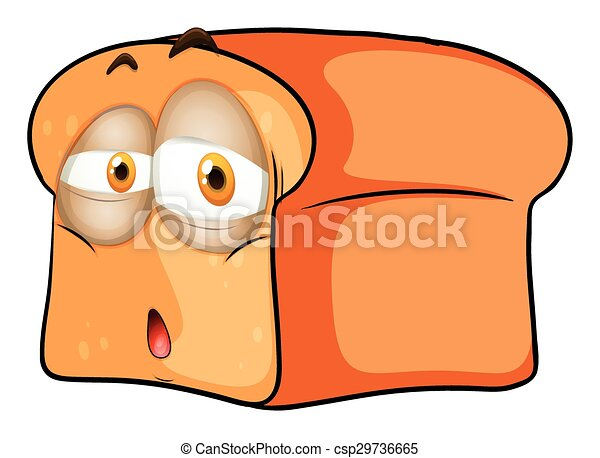 loaf of bread with sad face illustration clip art vector search rh canstockphoto com  loaf of bread pictures clip art
