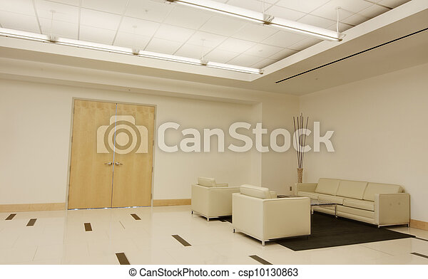 Lobby in Office Building - csp10130863