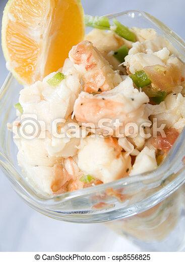 lobster ceviche  Corn Island Nicaragua  - csp8556825