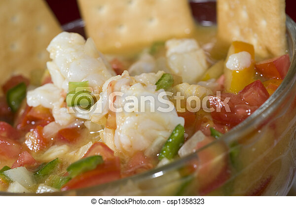 lobster ceviche nicaragua - csp1358323