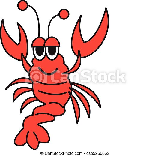 Lobster Vector Clip Art - csp5260662
