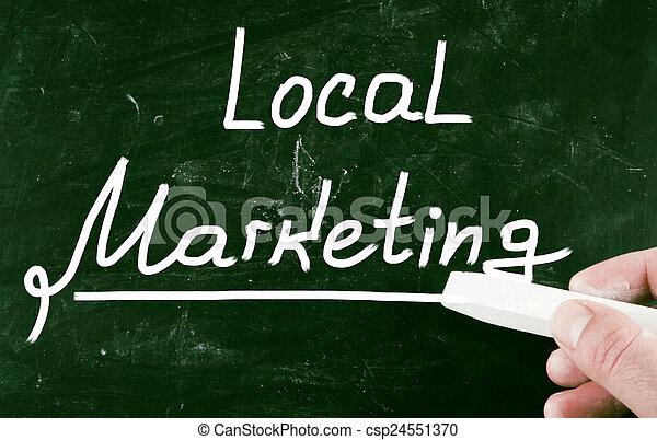 local marketing - csp24551370