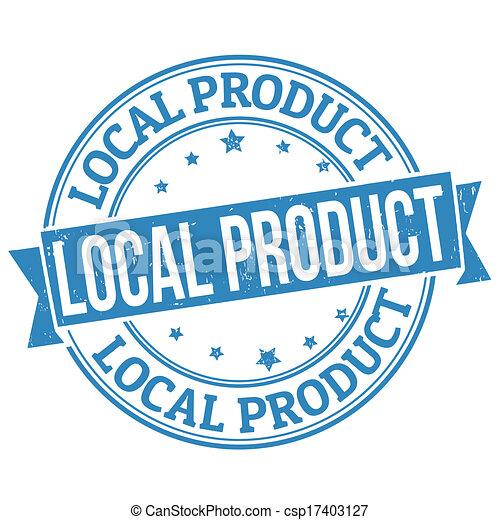 Local product stamp - csp17403127