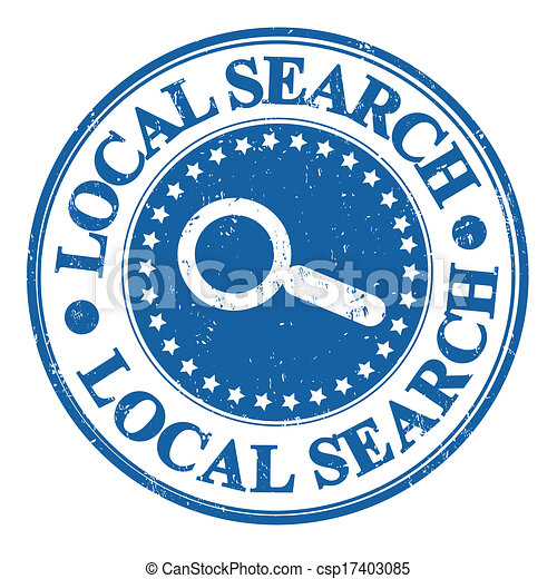 Local search stamp - csp17403085