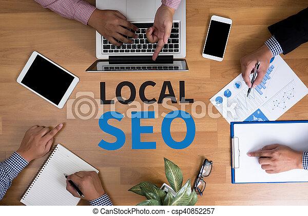 Local SEO Concep - csp40852257