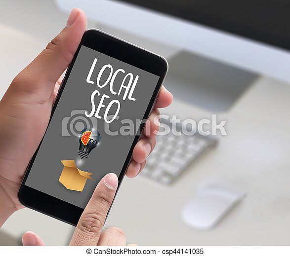 LOCAL SEO - csp44141035