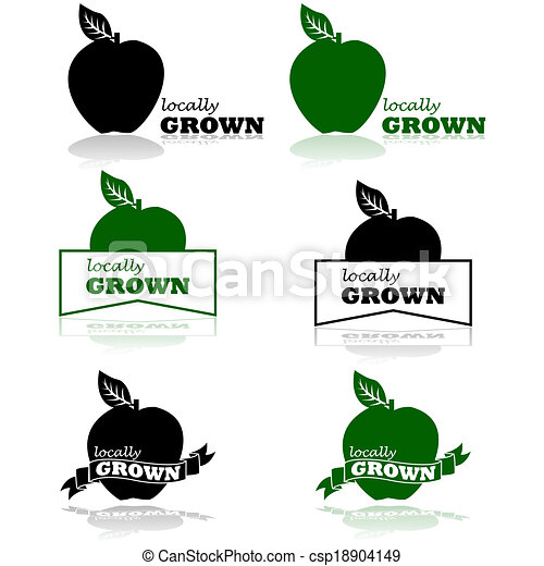 Locally grown - csp18904149