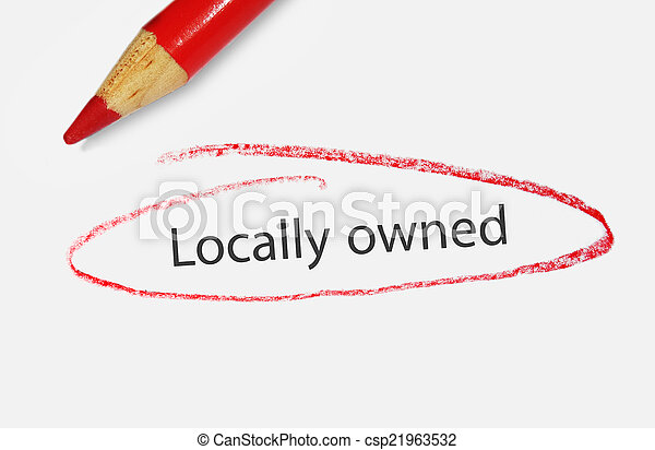 locally owned - csp21963532