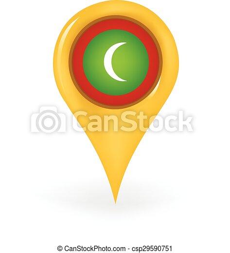 Location Maldives